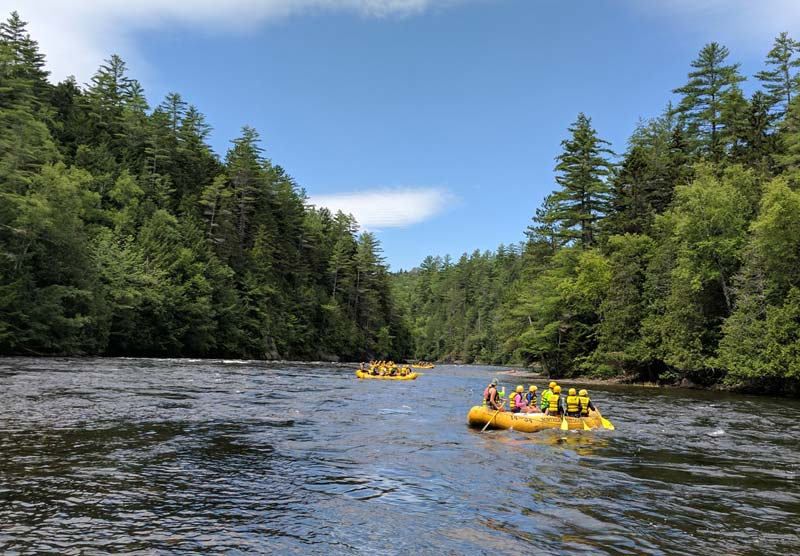 Kennebec River float