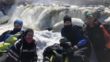 Fun Family Vacation in Maine: Snowmobile Trip Review
