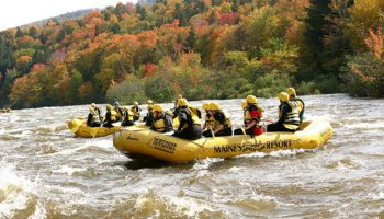 Dead River Rafting Part 1: Creation of Maine's Largest Man-made Lake