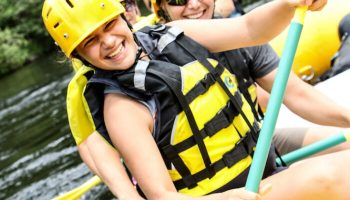 A White Water Vacation Memory - Family Rafting