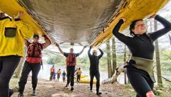 Maine Whitewater Guide Training