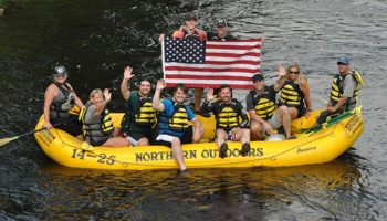 Video of the Week: Maine Whitewater Rafting and the Wounded Warrior Project