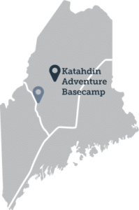 Map Katahdin Adventure Basecamp