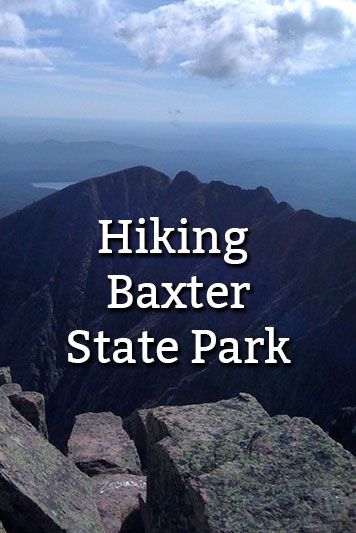 Hiking Baxter State Park Knifes Edge