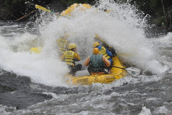 Kennebec River High Water Rafting