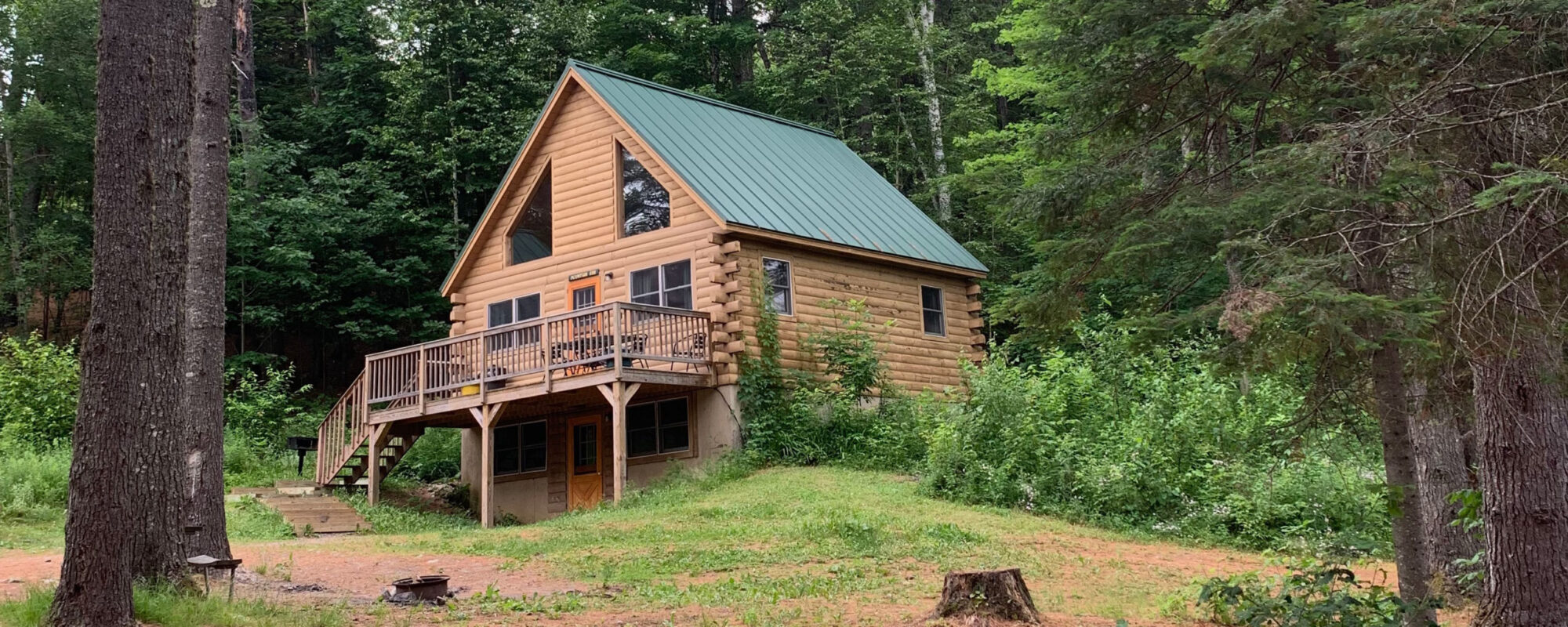 Cabin rentals and camping