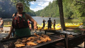 Kennebec Whitewater Rafting - Better Than Your Average Riverside Lunch