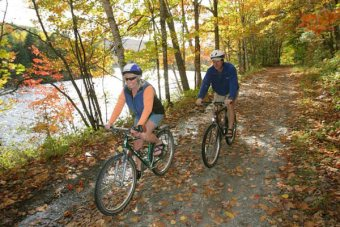 Forks area scenic trail biking