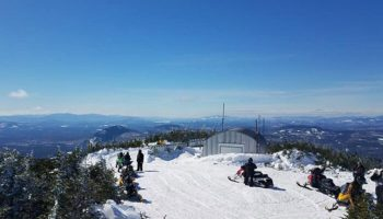 Snowmobile Trail Conditions Report: The Forks, Maine March 21, 2019