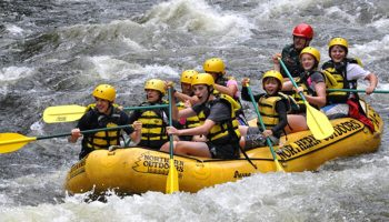 Is Whitewater Rafting Safe for Kids? A Mother's Experience.