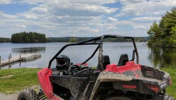 ATV Riding in The Forks, Maine