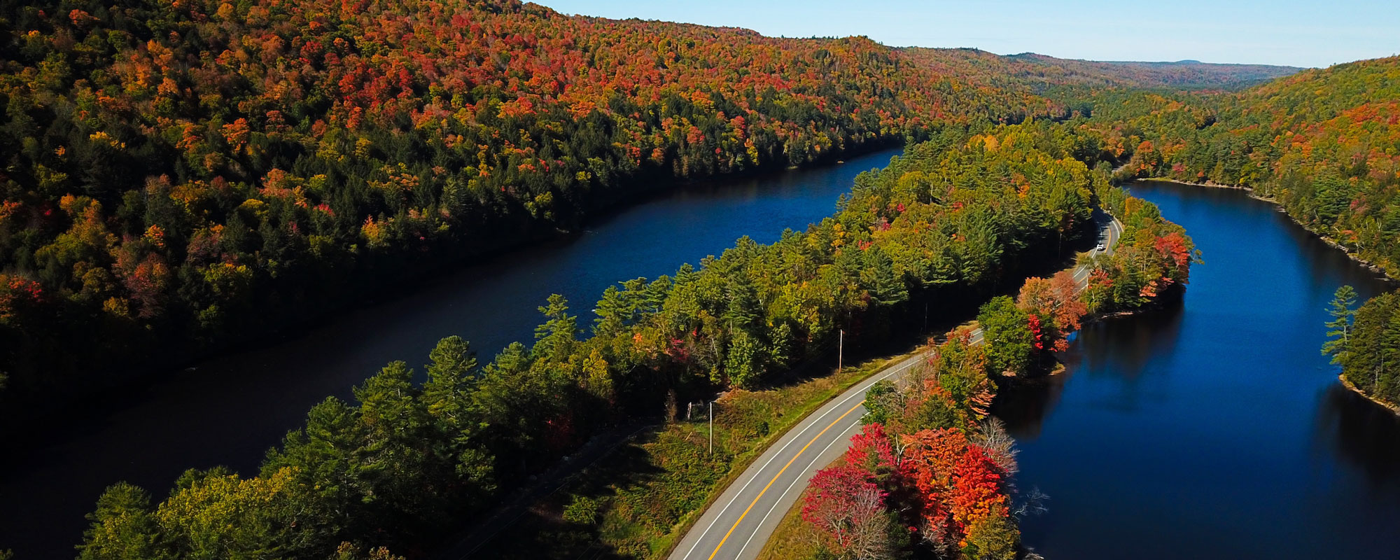 Scenic Drives in Maine Fall Foliage