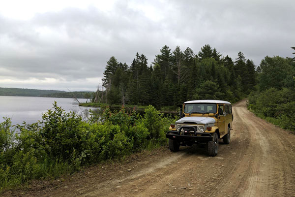 landcruiser back roads