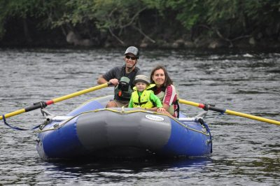 Maine Rafting and Hiking Guide: Sandi Howard