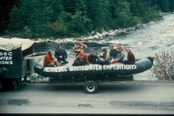 Wool shirts & extreme attitudes: First runs of the Kennebec River 1976