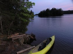 Camping Wilderness Overnight Indian Pond Maine