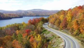 The Forks, Maine Starts One of America's Best Fall Color Drives