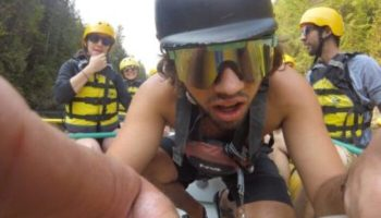Maine Whitewater Rafting Guide Parker Kennedy