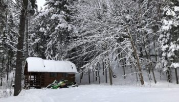 A Valentines Snowmobiling Adventure
