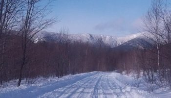 Maine Snowmobile Tour: Kingfield to The Forks