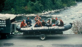 History of Rafting on The Kennebec River: Part 1