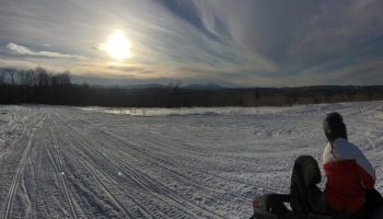 Snowmobile Trail Conditions Report: The Forks, Maine March 7, 2019