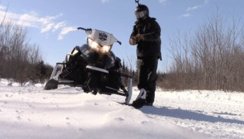Snowmobile Trail Conditions Report: The Forks, Maine January 17, 2019
