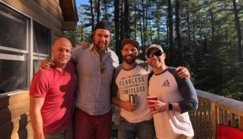 When a Band Has a Bachelor Party in The Forks, Maine