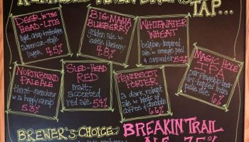 Not Just IPAs: Kennebec River Brewery's 8 Tap Rainbow of Beer