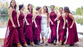 4 Reasons to Plan an Outdoor Maine Wedding in The Forks