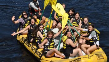 Planning a Whitewater Rafting Family Vacation