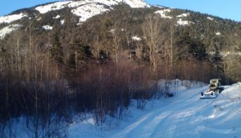 Snowmobile Trail Conditions Report: The Forks, Maine March 20