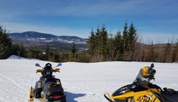 Snowmobile Trail Conditions Report: The Forks, Maine March 14, 2019