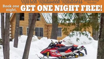 Snowmobile Trail Conditions Report: The Forks, Maine March 1
