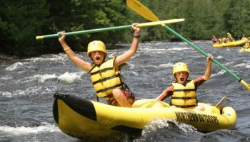 Kids Enjoy Maine Family Vacations on the Kennebec River