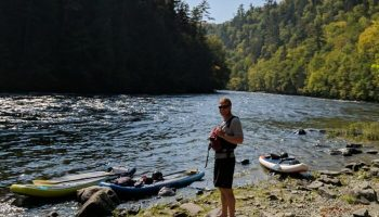 Whitewater SUP: Paddleboarding Maine Rivers