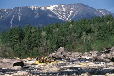 Penobscot River Rafting with Northern Outdoors