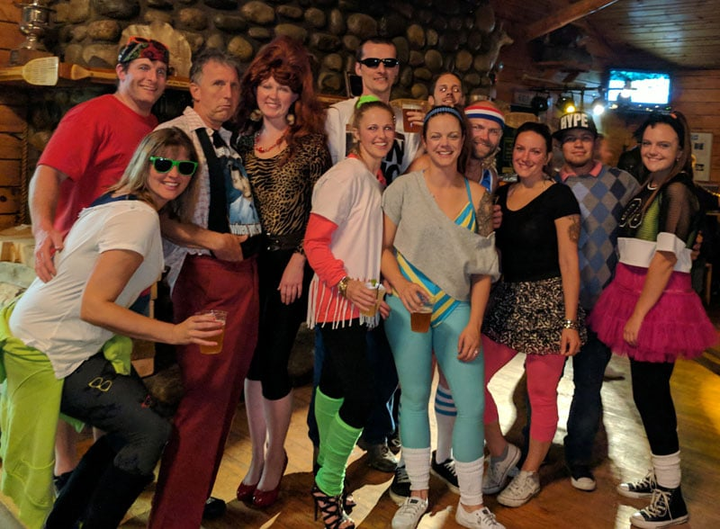 Awesome 80s Party Costumes - Brewery Events