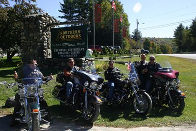 Maine Motorcycling - Northern Outdoors