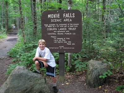 Moxie Falls Family Hiking Maine - Northern Outdoors