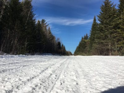 Maine Snowmobile Trails - ITS 87 West Forks