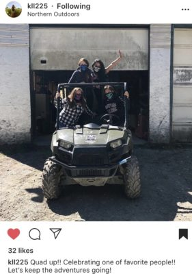 Bachelorette Party ATVing in Maine