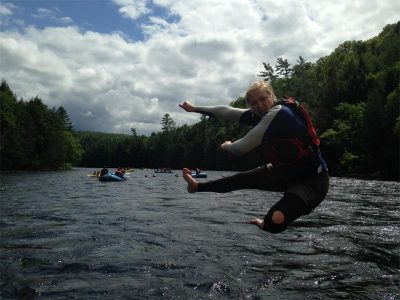 Maine Rafting Guide Erica Luce