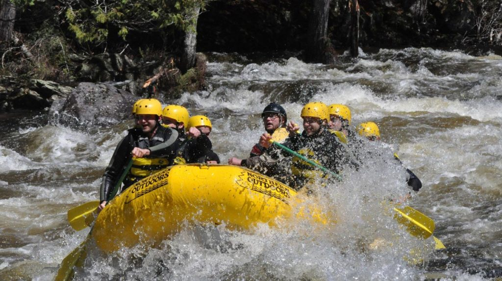 Spring Rafting | Kennebec River, Maine