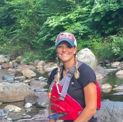Maine White Water Guide Steph Gal