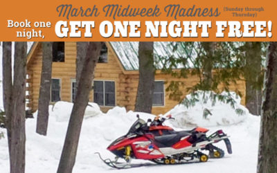 Discount March Snowmobile Trips