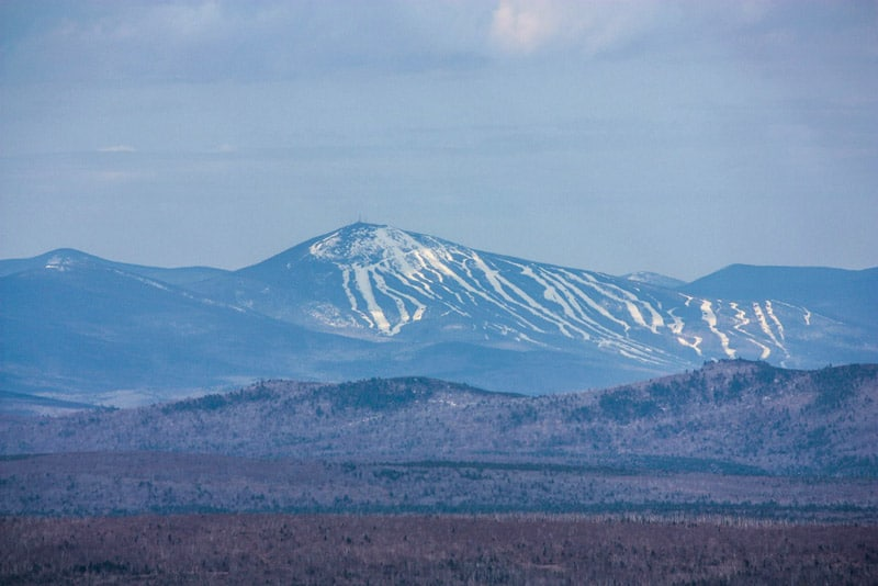 Sugarloaf from the Pleasant Pond Mtn Summit