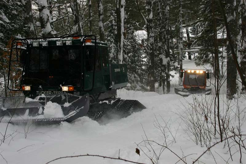 Snowmobile Trail Groomers