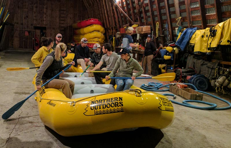 Whitewater Rafting Guide Training
