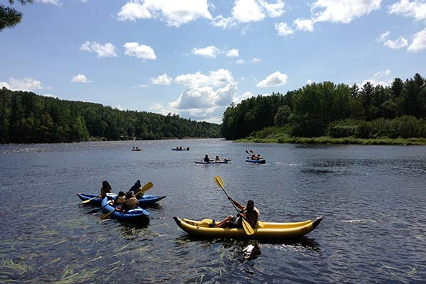 Kennebec River Tubing Trips - Northern Outdoors